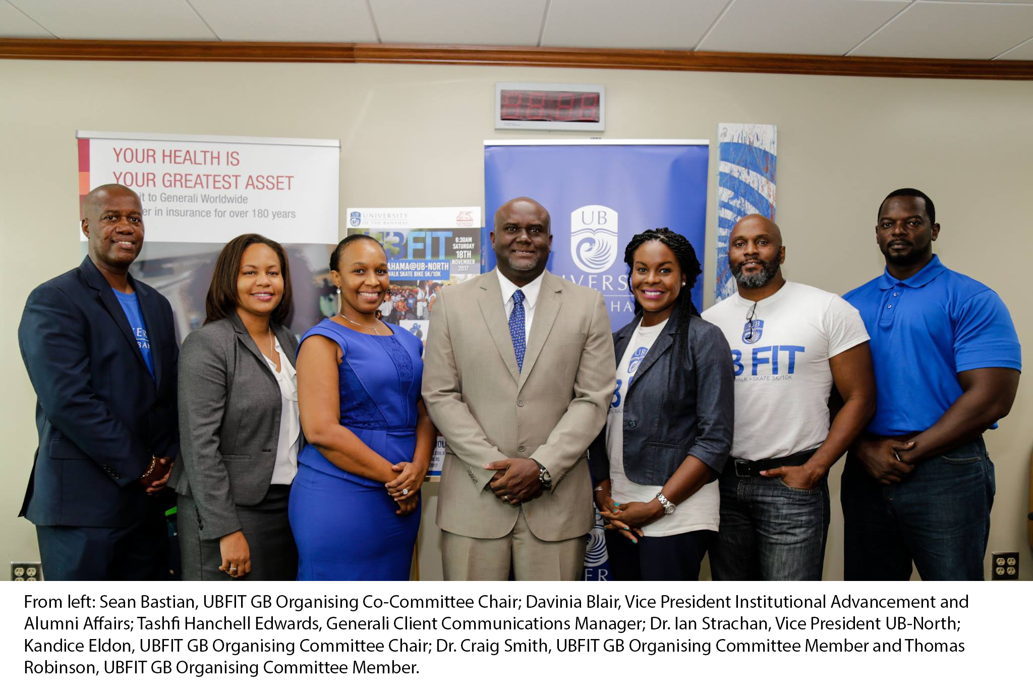 UBFIT Grand Bahama Focuses on Health as a National Imperative