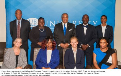 UB Board of Trustees Elects Chair and Vice-Chair