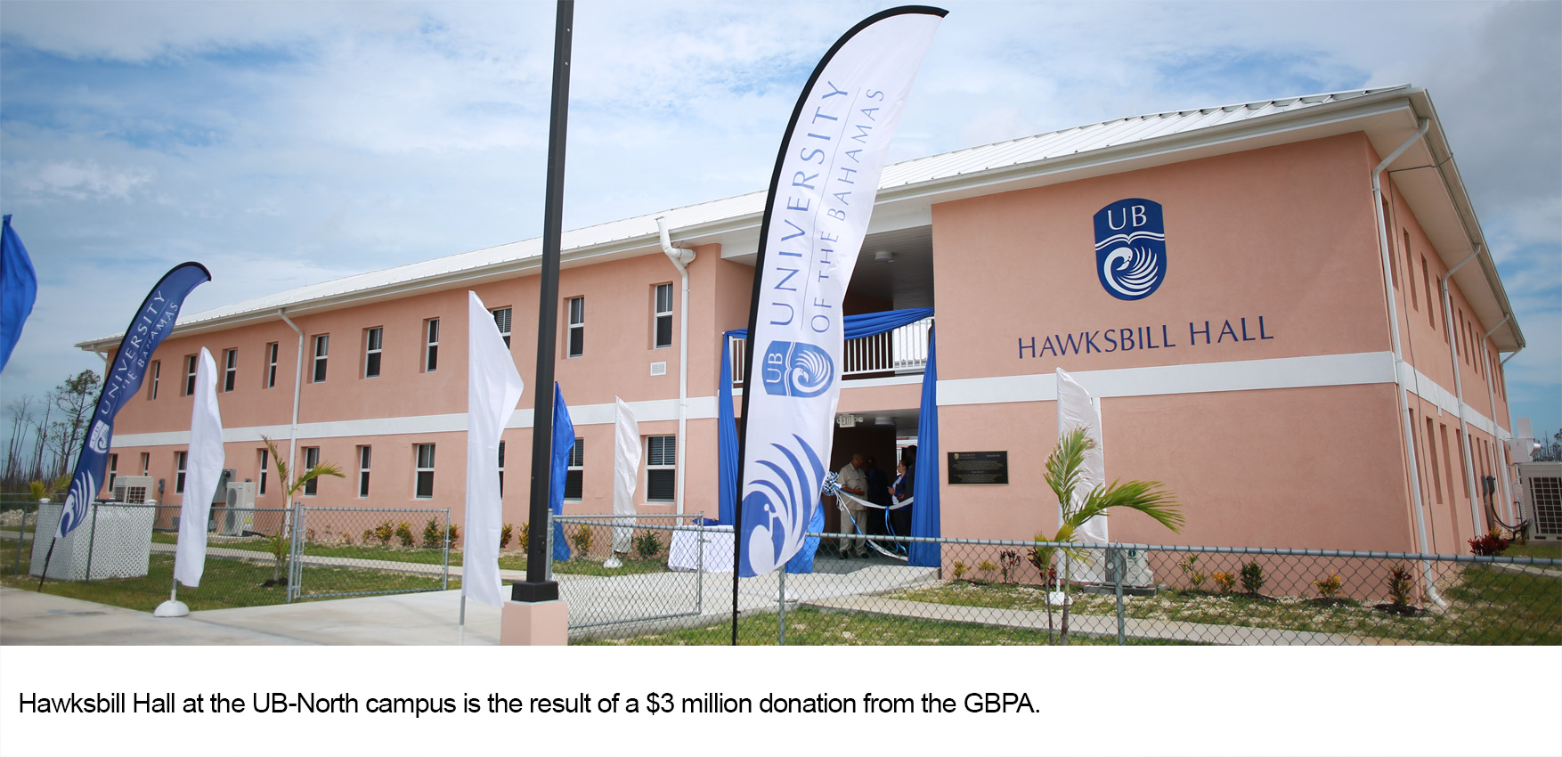 Hawksbill Hall Residential Facility at UB-North Officially Opened