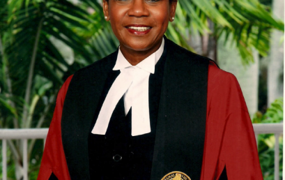 Justice Rubie Nottage (Retired) Rejoins UB Department of Laws