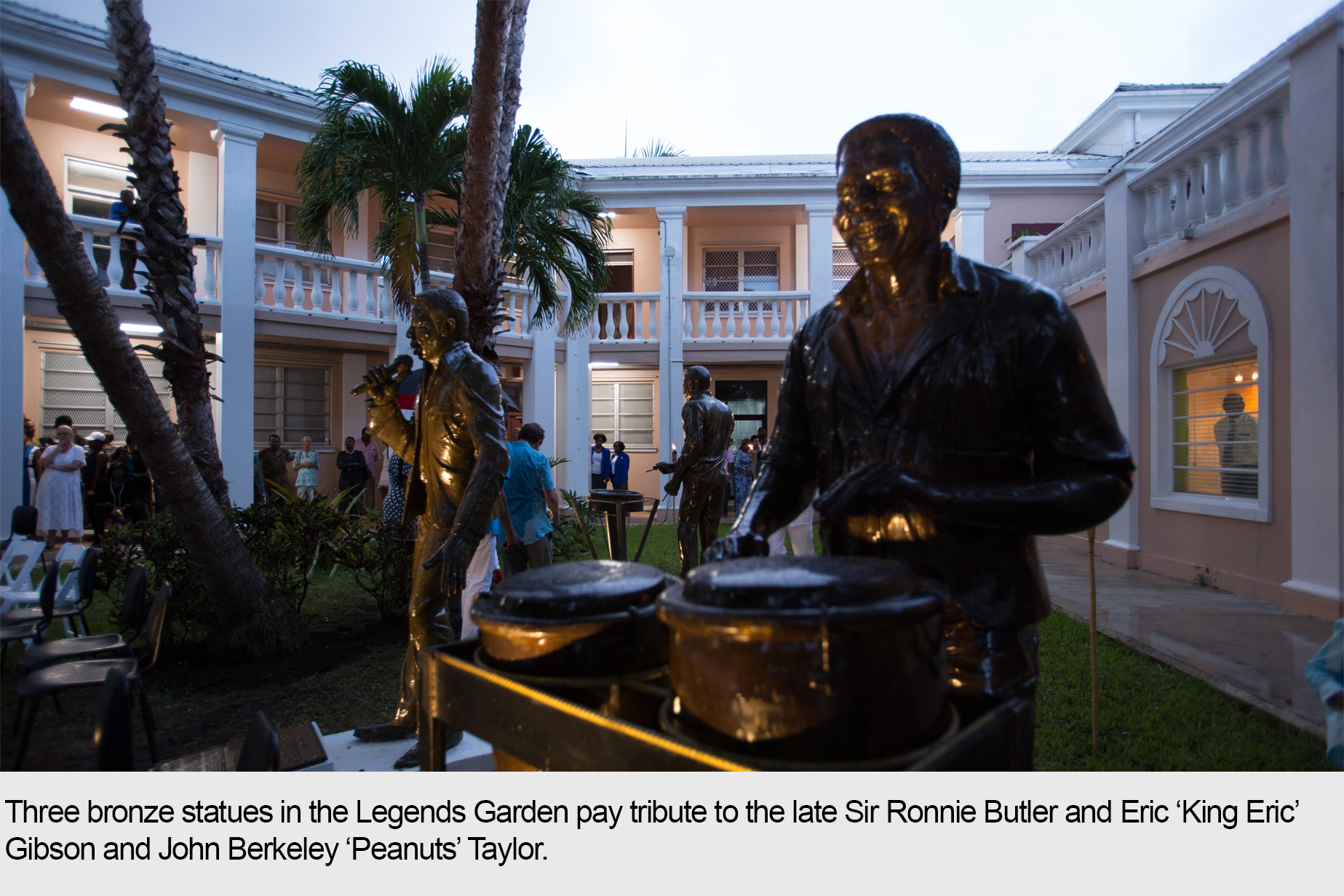 Legends Garden Pays Homage to Bahamian Musical Icons