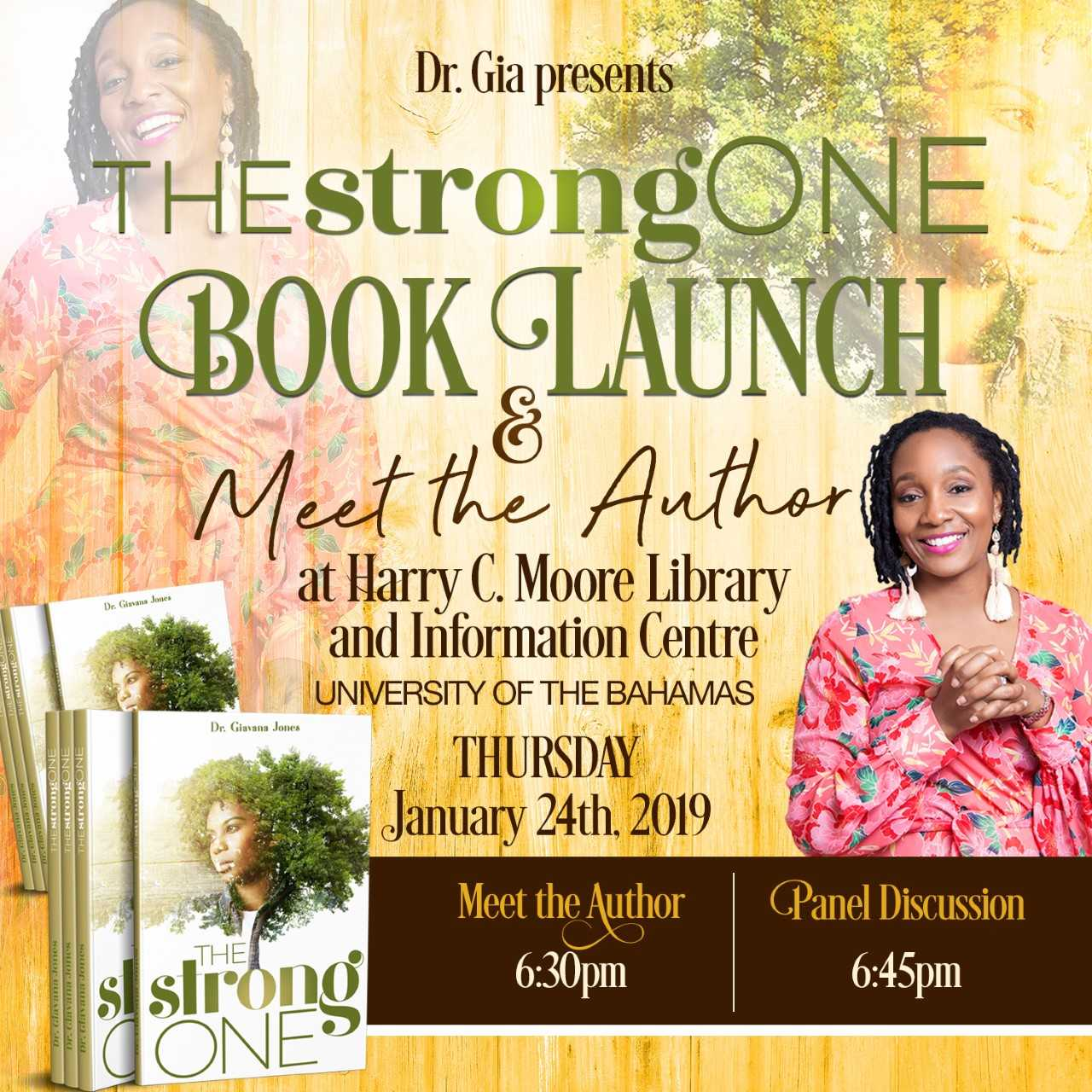 The Strong One, Redefining Strength-UB Professor Dr. Giavana Jones Launches First Book