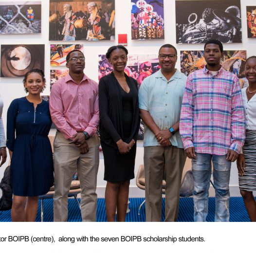 BOIPB Scholars Encouraged To Strengthen  Family Island Communities