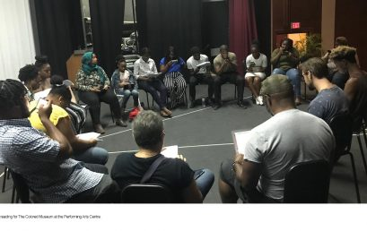 UB Theatre Company's FirstCritically-Acclaimed Stage Play  The Colored Museum