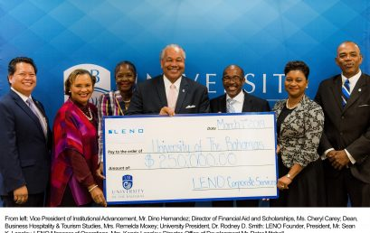 LENO Group of Companies Ltd. Signs $250,000 MOU for  Endowed Scholarships at UB