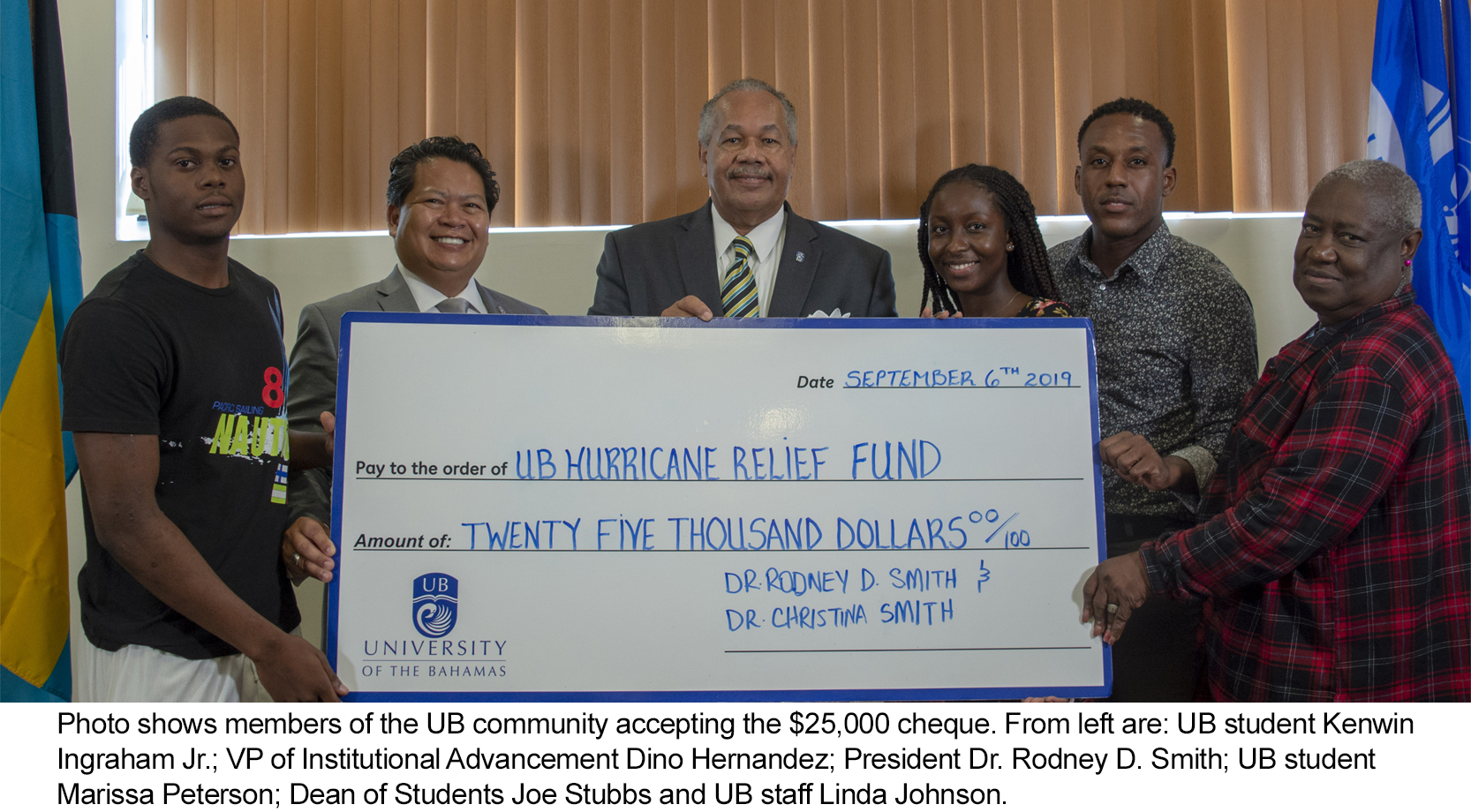 UB President Issues Matching Gift Challenge for Hurricane Relief. University Pledges to Rebuild Northern Campus