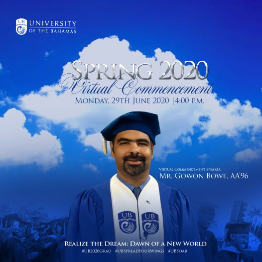 Prominent Bahamian accountant to Deliver UB Virtual  Commencement Address